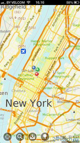 MapsWithMe Pro 2.4.1. Оффлайн карты всех стран мира.