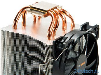 Начались продажи процессорных охладителей be quiet! Shadow Rock 2