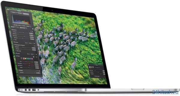 Ноутбуки Apple MacBook Pro образца 2013 года будут использовать процессоры Intel Haswell