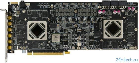 Новые фотографии двухъядерной видеокарты SAPPHIRE Radeon HD 7990 Atomic