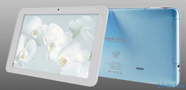 Новый 10,1-дюймовый планшет Senkatel Maximus T1001 на базе процессора Intel Z2460
