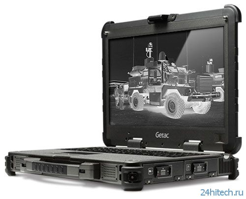 Обновлённая версия ноутбука военного класса Getac X500 MIL CON уже в России