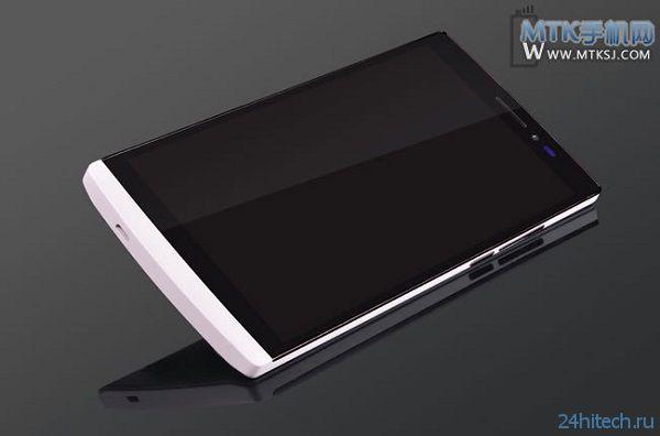 Планшетофон G Five Kivu получит восьмиядерный процессор MediaTek MT6592 и будет похож на Oppo Find 5