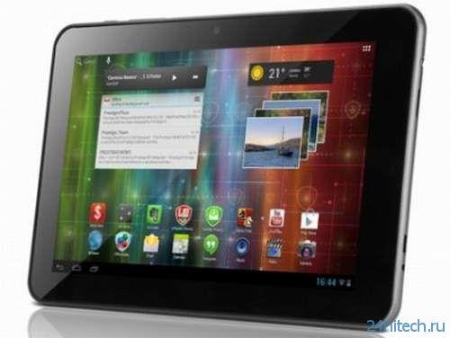 Планшеты Prestigio MultiPad 7.0 HD и 8.0 HD с высоким разрешением экрана