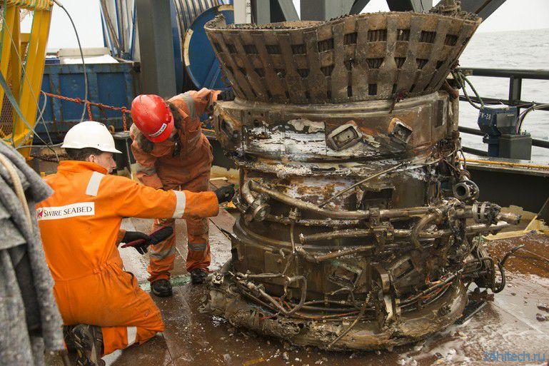 Подтверждено восстановление ракетных двигателей Аполлона-11