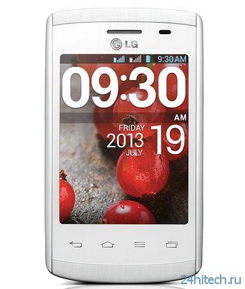 Представлен новый смартфон LG Optimus L1 II в одно- и двухсимной версии