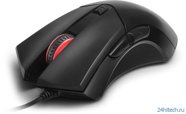 Проводная мышь Delux M553 ориентирована на любителей игр