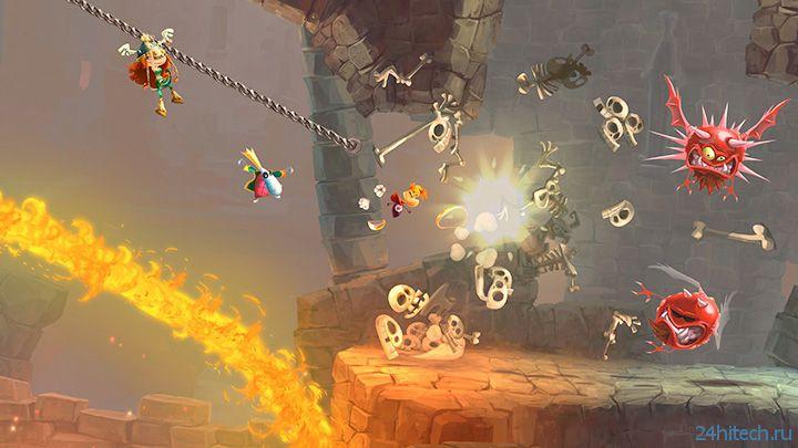 Rayman Legends выйдет на PC