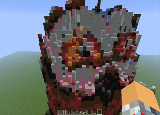 Реальные объекты теперь можно переносить в Minecraft