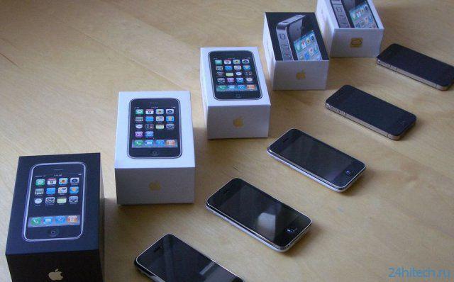 Российские операторы сотовой связи отказались от продаж iPhone