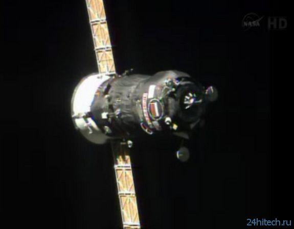 Российский космический грузовик на орбите