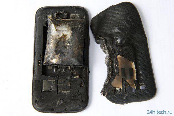 Samsung Galaxy S3 взорвался в кармане молодой девушки