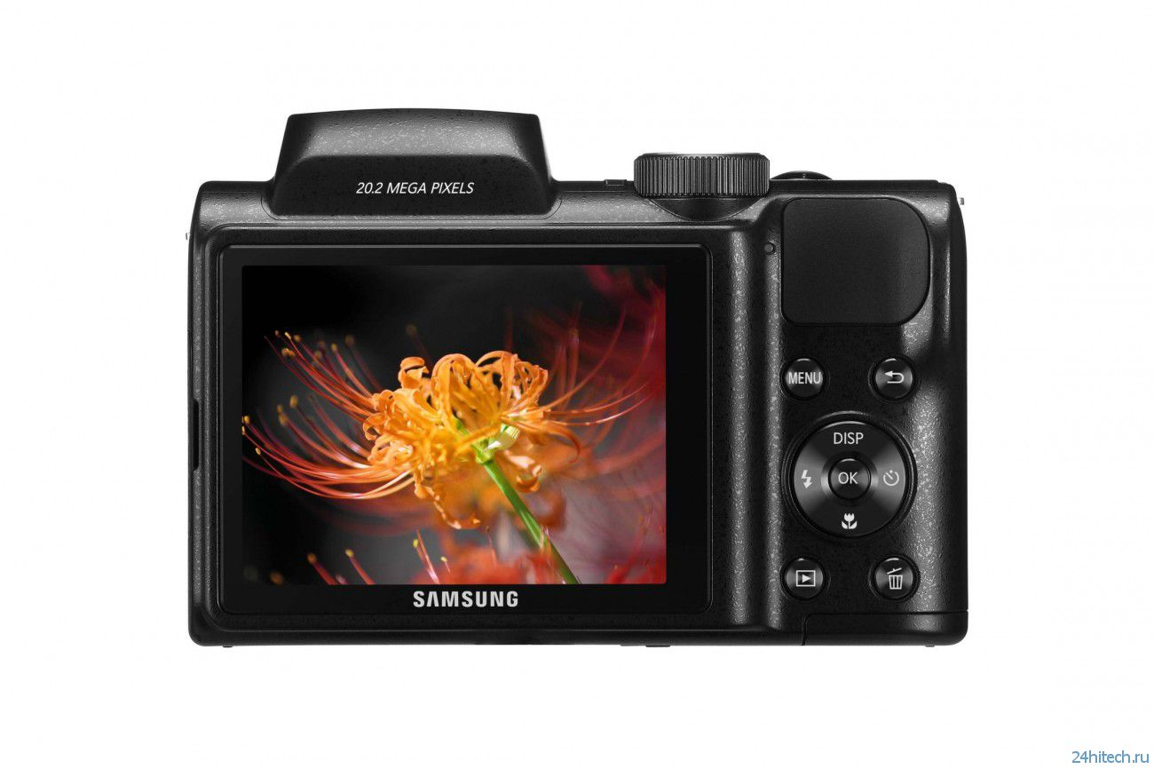 Samsung анонсировала камеру WB110 с 26-кратным зумом