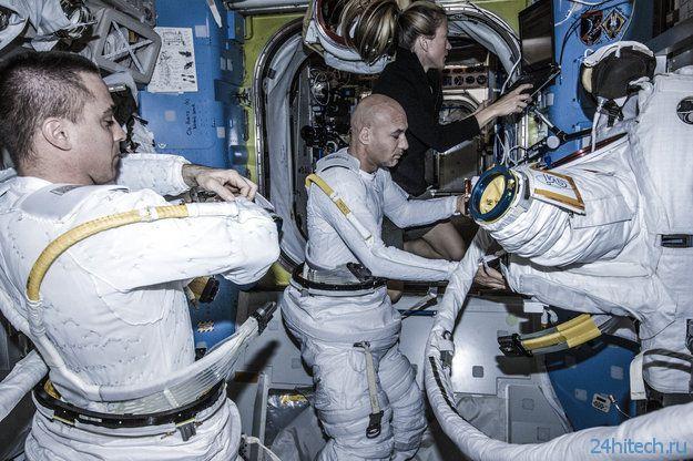 Сегодня космонавты МКС выйдут в открытый космос