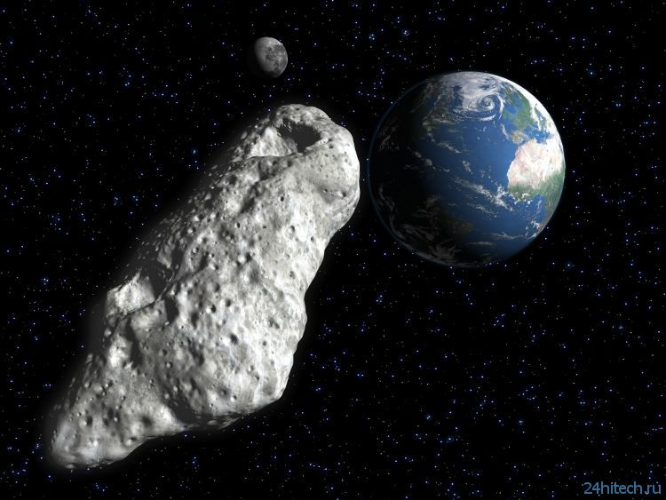 Сегодня мимо нас пролетит астероид