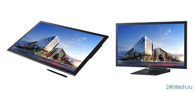 Сенсорный монитор Sharp PN-K322B формата Ultra HD на основе IGZO-технологии