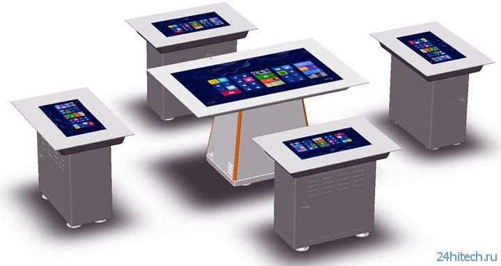 Сенсорный стол DreamVision Touch Table PC T55 с диагональю 55 дюймов