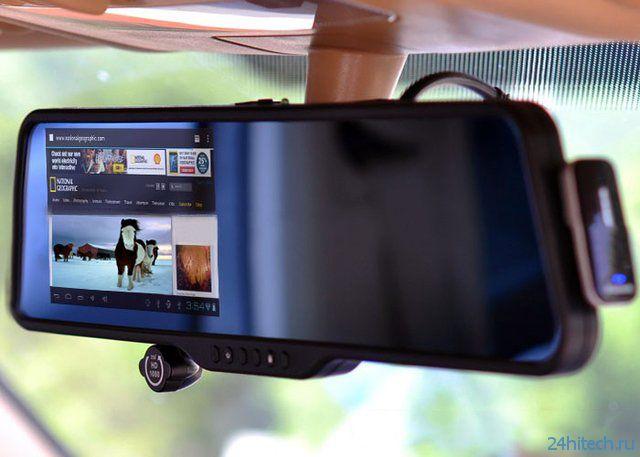 Shift - автомобильное зеркало заднего вида на Android