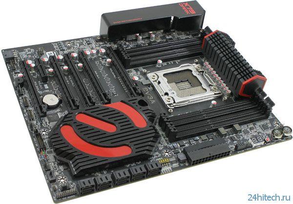Системная плата Evga X79 Dark типоразмера E-ATX стоит 0