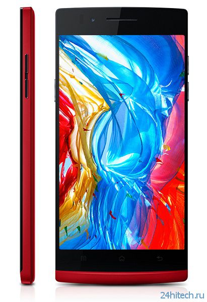 Смартфон Oppo Find 5 Red Edition уже можно приобрести по цене 486 долл.
