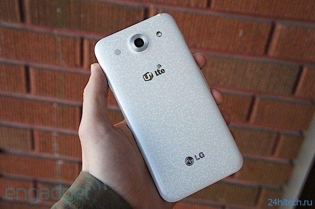 Старт глобальных продаж смартфона LG Optimus G Pro