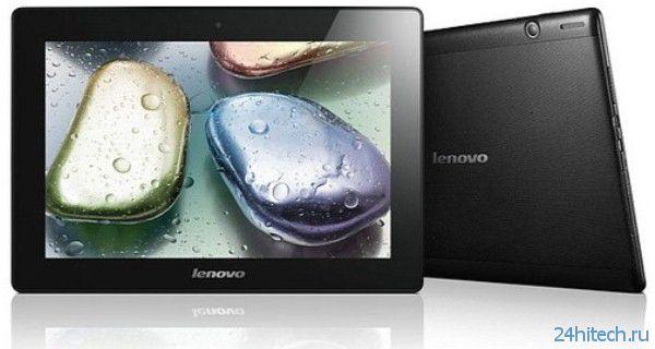 Стартовали продажи планшетов Lenovo IdeaPad A1000, A3000 и S6000