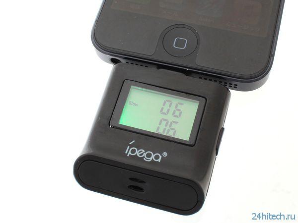 Thanko выпустила алкометр для iPhone