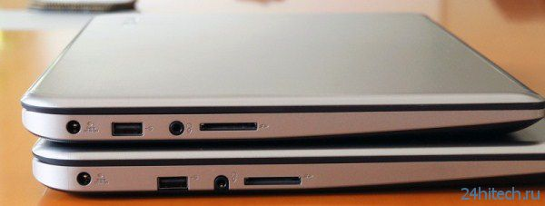Toshiba представила новые тонкие ноутбуки Satellite E45t и E55t