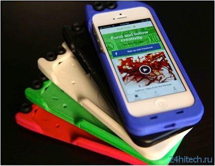 TurtleCell - чехол для iPhone с выдвижными наушниками