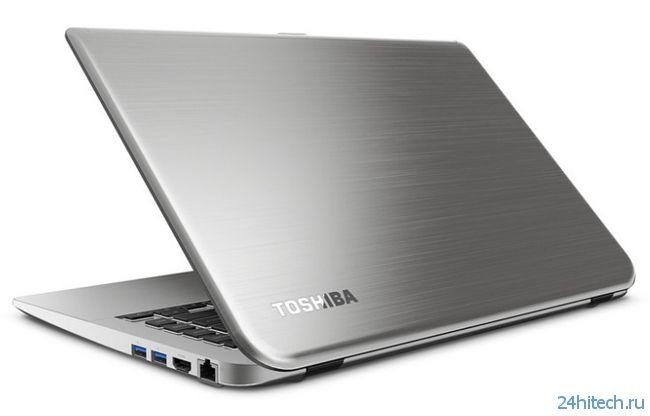 Ультратонкие ноутбуки Toshiba Satellite E45t и E55