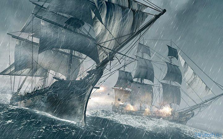 Видео: Assassin's Creed 4: Black Flag — 13 минут открытого мира Карибов