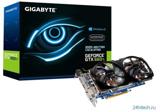 Видеокарта GIGABYTE GeForce GTX 660 Ti (GV-N66TWF2-2GD-JP) из серии Ultra Durable VGA