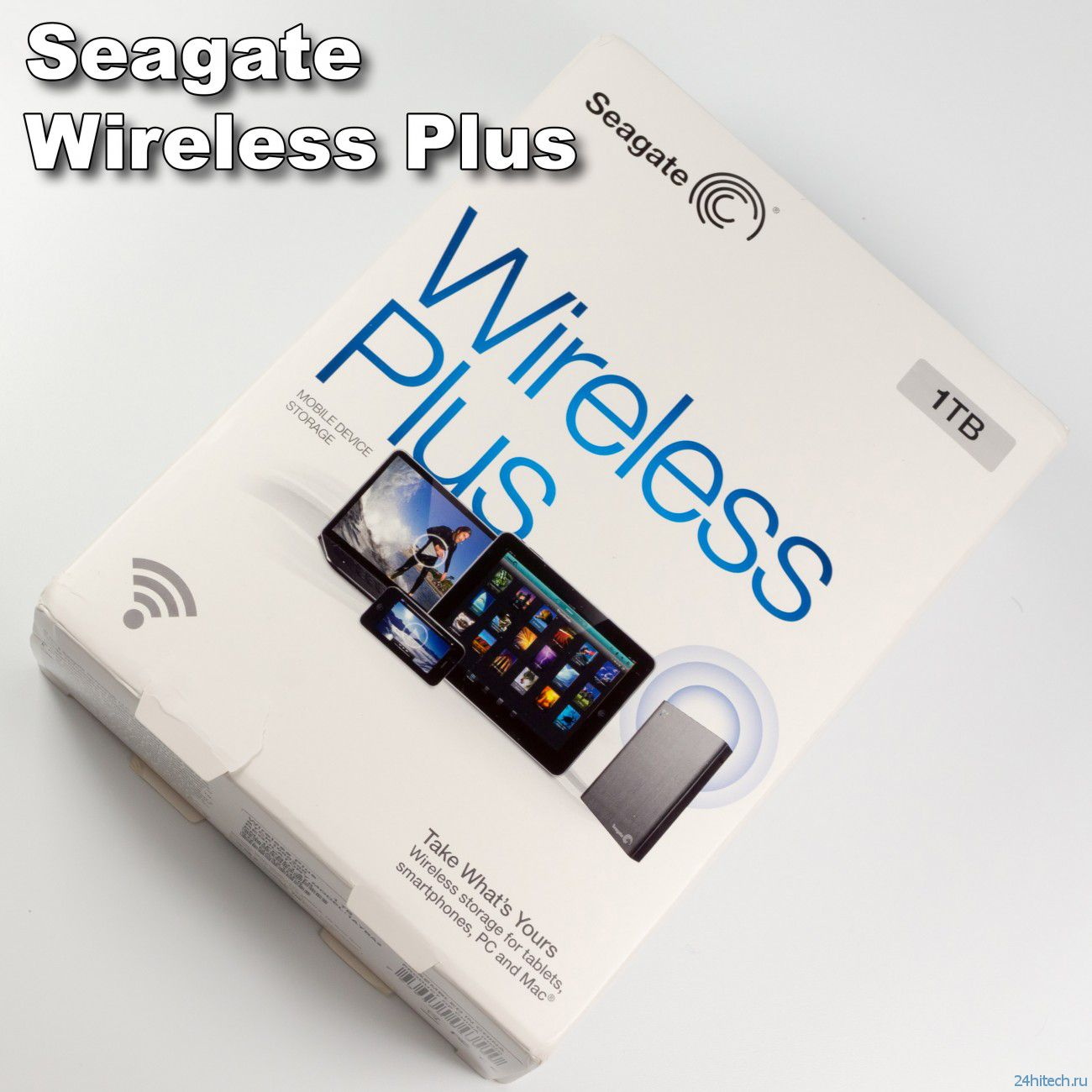 Wi-Fi диск Seagate Wireless Plus: превращение в полноценный NAS