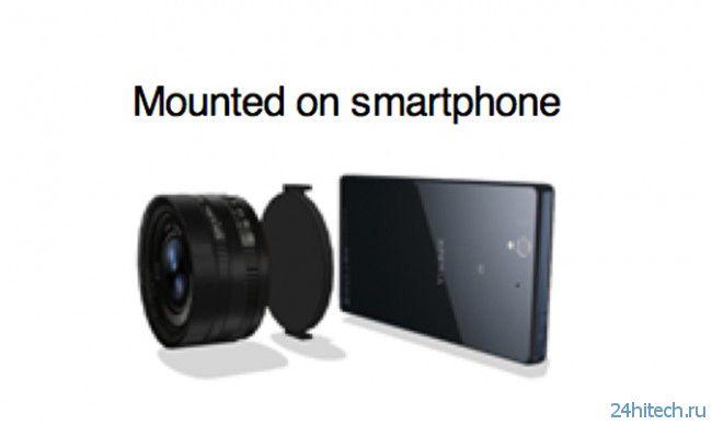 Забудьте Lumia 1020. Sony выпускает полноценный объектив для смартфона