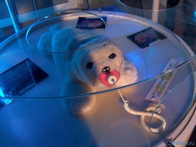 #чтиво |Роботизированный тюлень Паро на медицинской службе