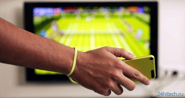 iPhone и Apple TV - теннисный корт у вас дома
