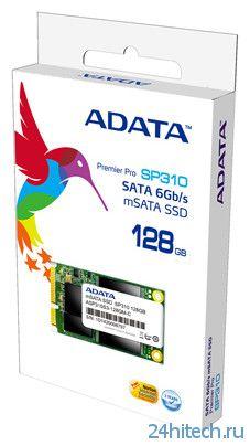 ADATA Premier Pro SP310 – mSATA SSD-накопитель объемом до 128 ГБ