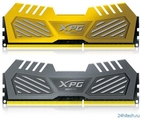 ADATA представила модули памяти XPG V2 Series DDR3-3100
