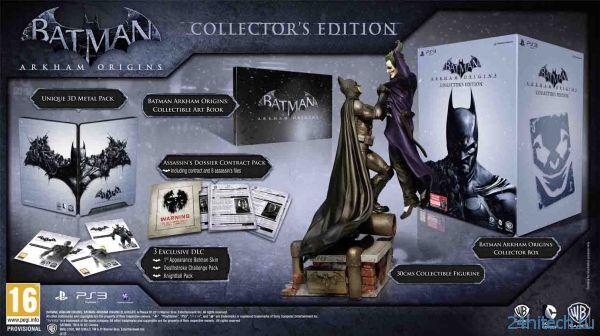 Анонсировано коллекционное издание Batman: Arkham Origins