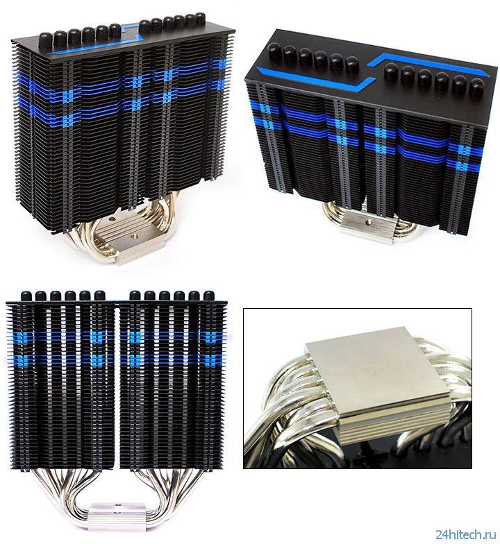 CPU-кулер Prolimatech Armageddon в эксклюзивной версии Blue Series