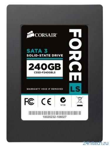 Corsair Force Series LS – новая линейка SSD-накопителей