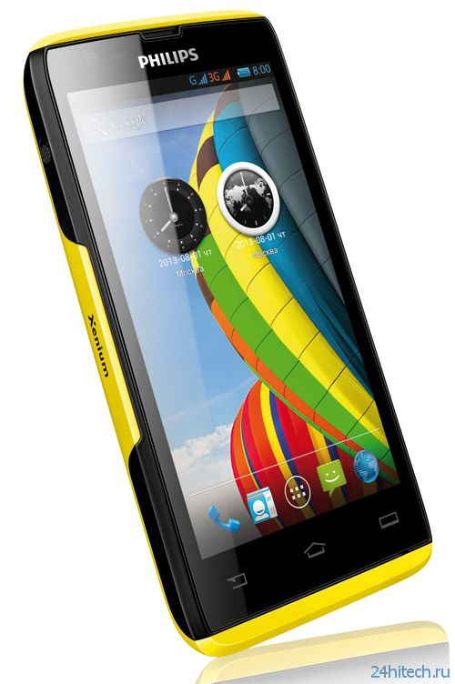 Долгоиграющий смартфон Philips Xenium W6500