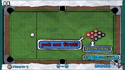 Doodle Pool HD 1.7. Бильярд
