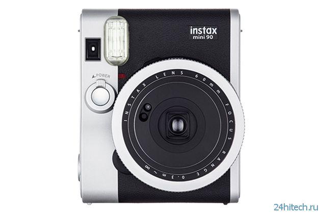 Fujifilm совершенствует фотокамеры мгновенного действия