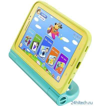 Galaxy Tab 3 Kids - детский планшет от Samsung (2 фото)