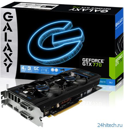 Galaxy удваивает объем памяти 3D-карты GeForce GTX 770