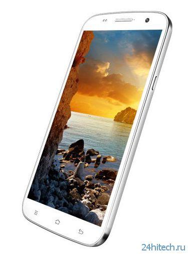 Гибрид смартфона и планшета Zopo ZP990 Captain S с 6-дюймовым экраном
