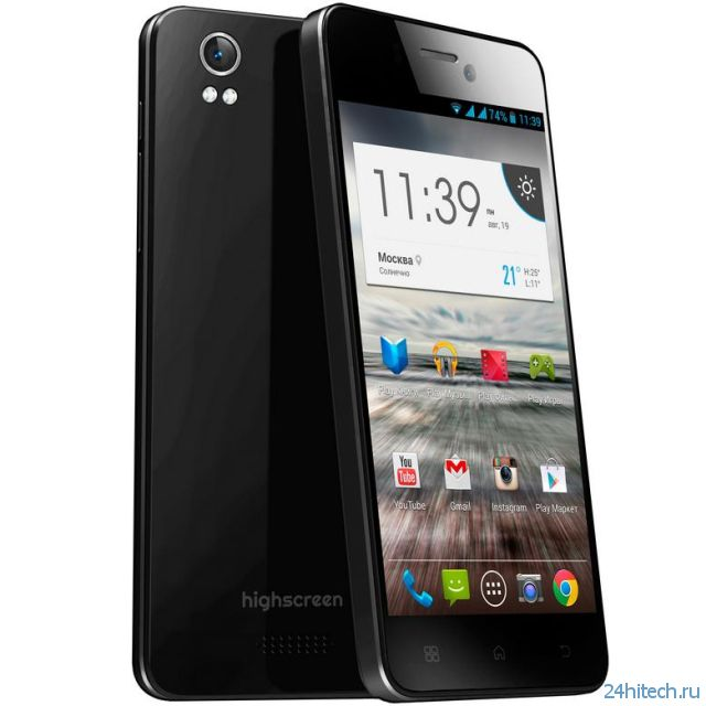 Highscreen Alpha Ice - почти iPhone, но на Android'e (3 фото)