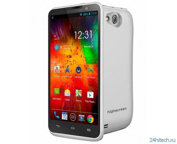Highscreen Alpha R: первый бюджетный Full-HD-смартфон с неделей без подзарядки