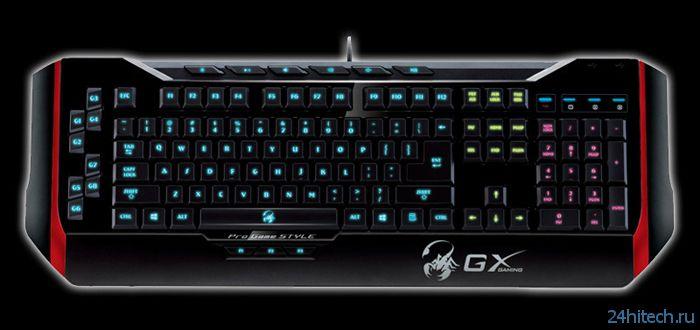 Игровая клавиатура Genius GX Gaming Manticore с многоцветной подсветкой